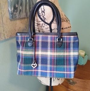 Brighton plaid VINTAGE purse 👜